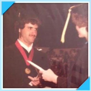 Pictured above is Dr. Jon graduating The University of Nebraska in Lincoln, Nebraska where he attained his Bachelor's Degree in Biology and graduated with Cum Laude – with outstanding honor distinction 4 years in a row.